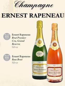 Ernest Rapeneau Champagne Sunset Silver Winners
