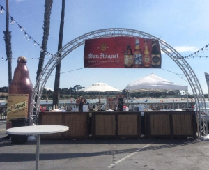 San Miguel is the official beer sponsor of  the Asian Pacific Festival in Newport Beach